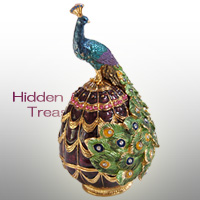 Peacock(孔雀)<br>Hidden Treasuresシリーズ