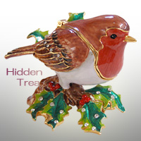 Robin in the Holly(コマドリ)<br>Hidden Treasuresシリーズ